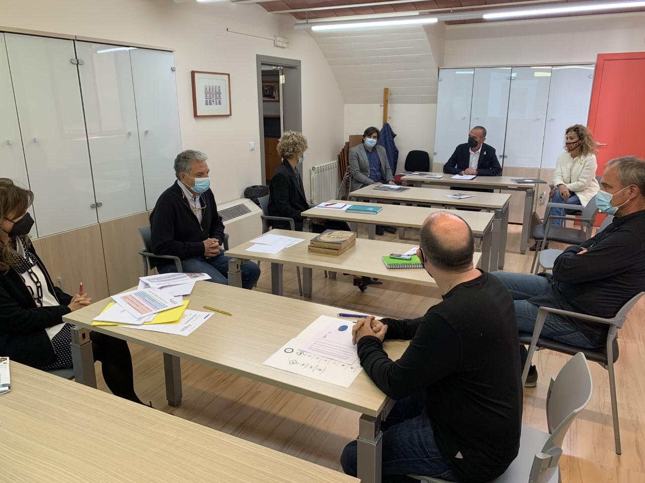 El Paer en Cap ha visitat avui l'IMO i ha mantingut una trobada amb els seus responsables.